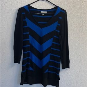 NWOTs Sweater Black and Blue Small